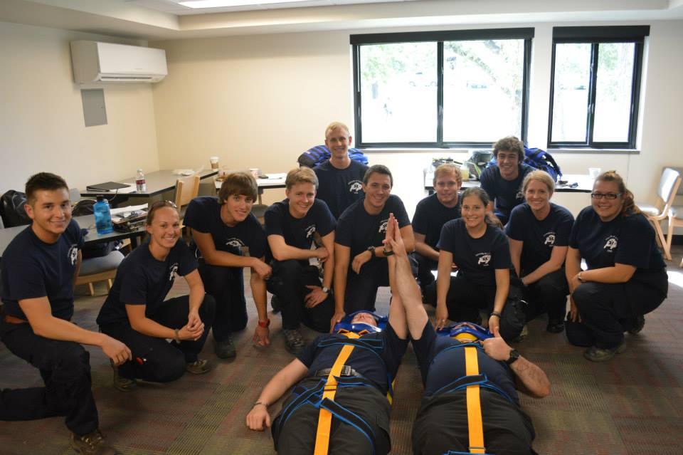 Ethan Zerpa (PLC '12) Leads CU EMS's Training Academy
