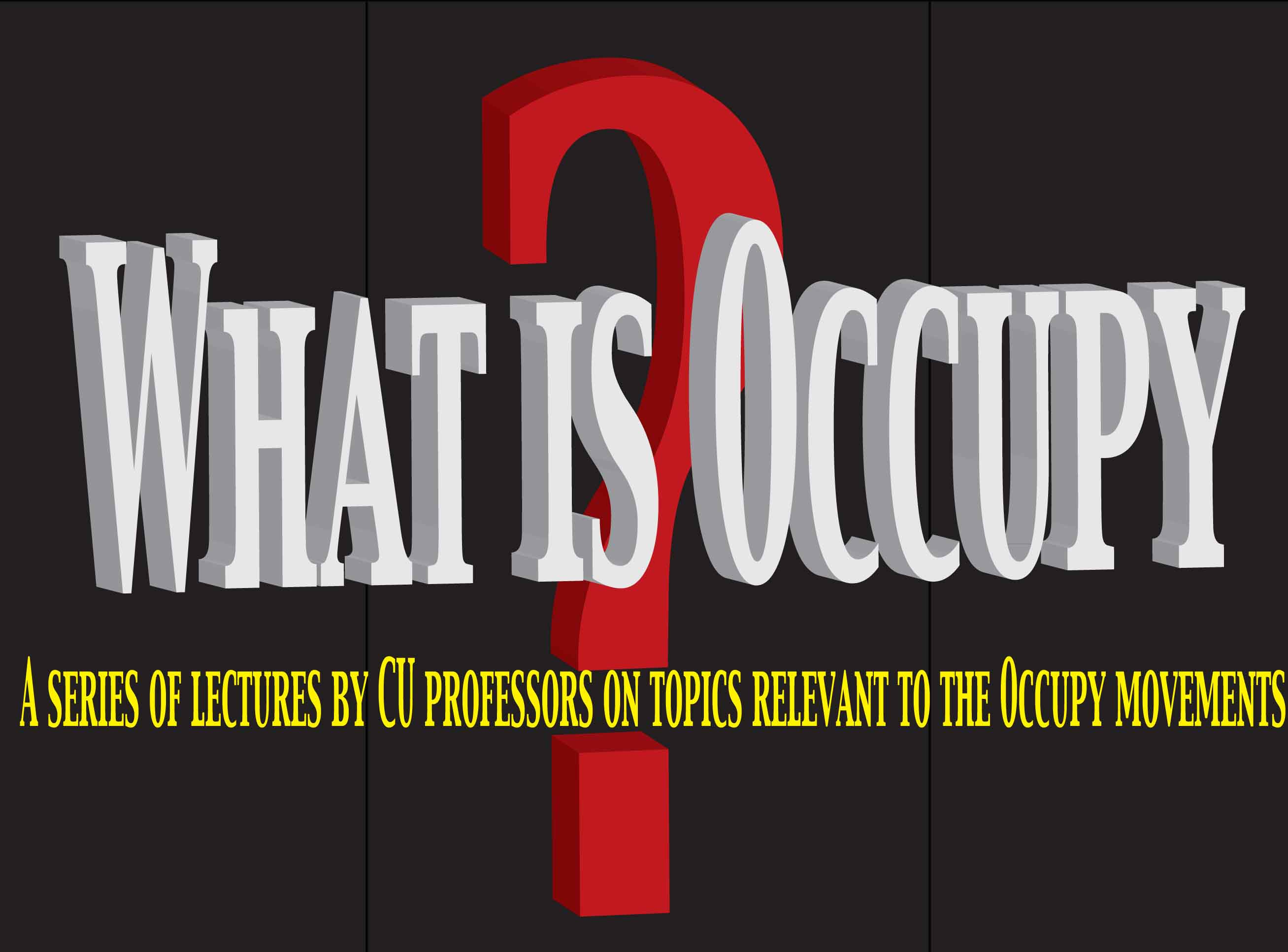 What's To Be Learned from Occupy Wall Street?