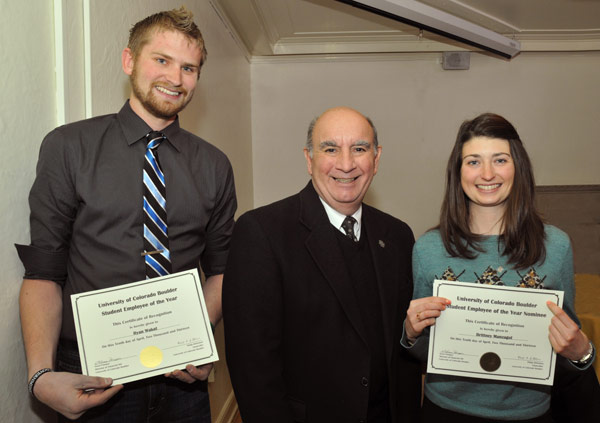 Brittney Manzagol - CU Student Employee of the Year